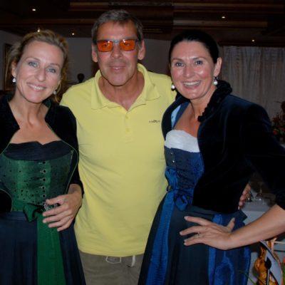 Sasha Hehn mit den Welte Schwestern beim Beckenbauer Golf Tournier Bad Griesbach - Charity