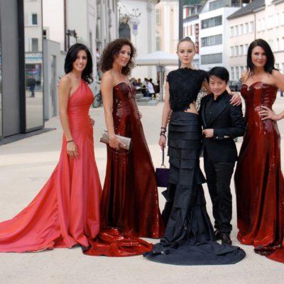 Stoff Design by Welte Schwestern und Mode Kreation by La Hong