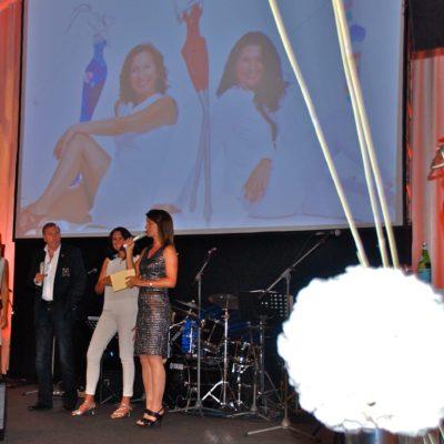 auf der Bühne -Beckenbauer Golf Tournier Bad Griesbach - Charity