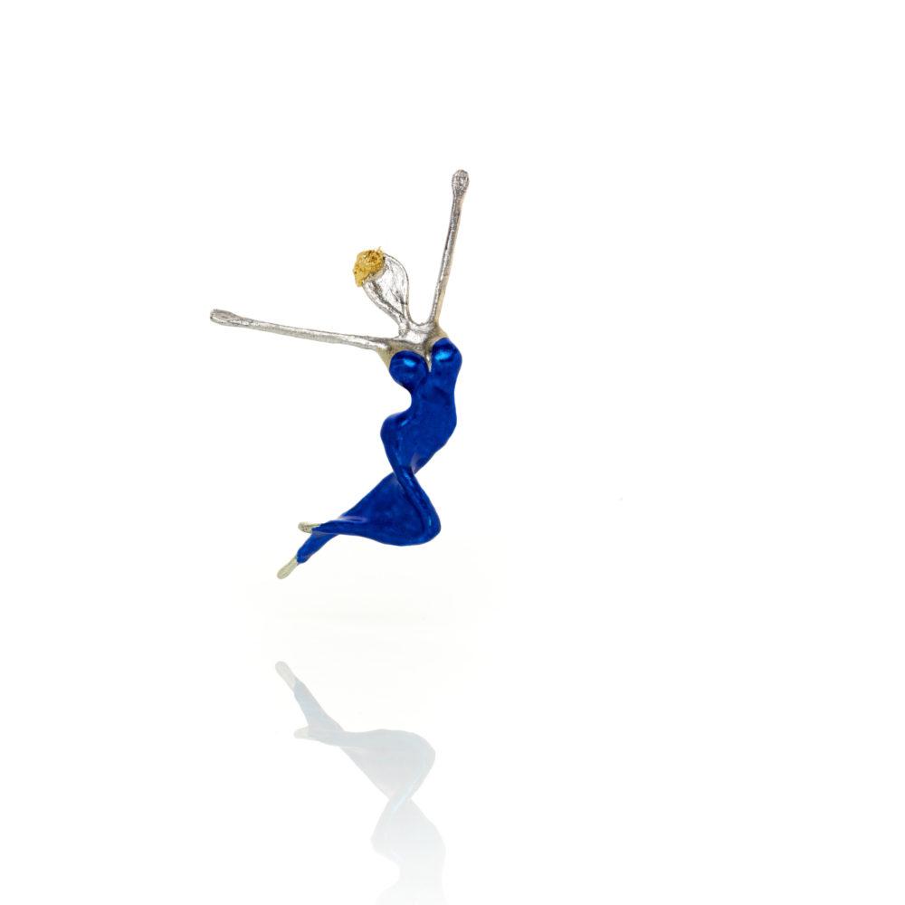 Glücksbotin Enzianblau