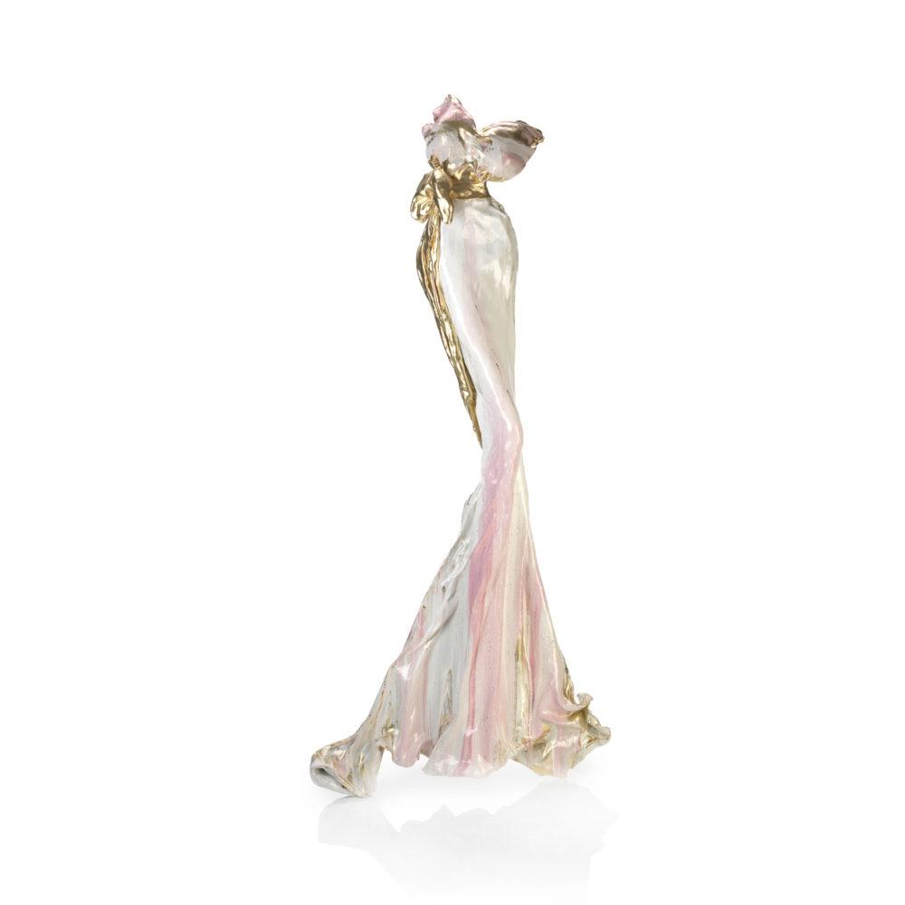 weißes Kleid aus Karbon und Harz_Sommernachtstraum_carbon couture | Nonos