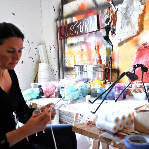 Arbeiten im Atelier NONOS