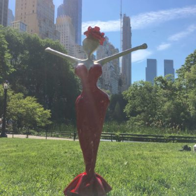 Central Park nyc, art projekt NONOS