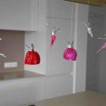 pinke Schutzengel aus Metall und Papier_Interior Designs | Nonos