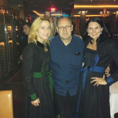 Fadil Berisha und die Welte Schwestern in New York