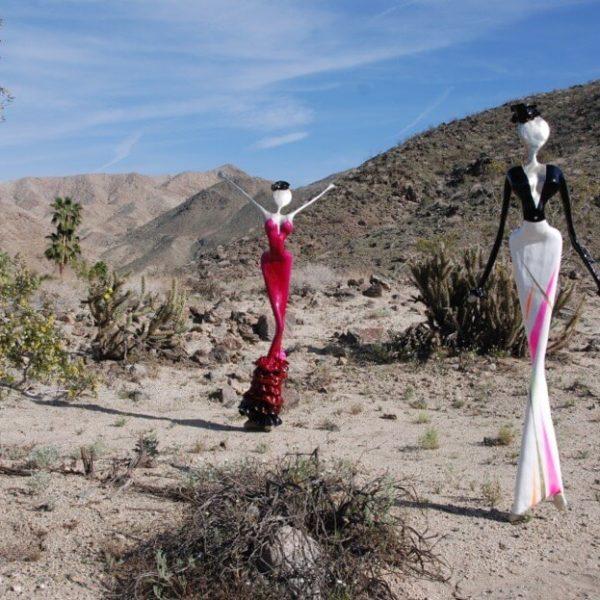 Palm desert , exhibition, burning man