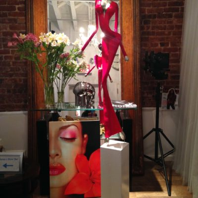 Sculpture from NONOS Mercedes and Franziska Welte in the Foto studio Fadil Berisha , new york city