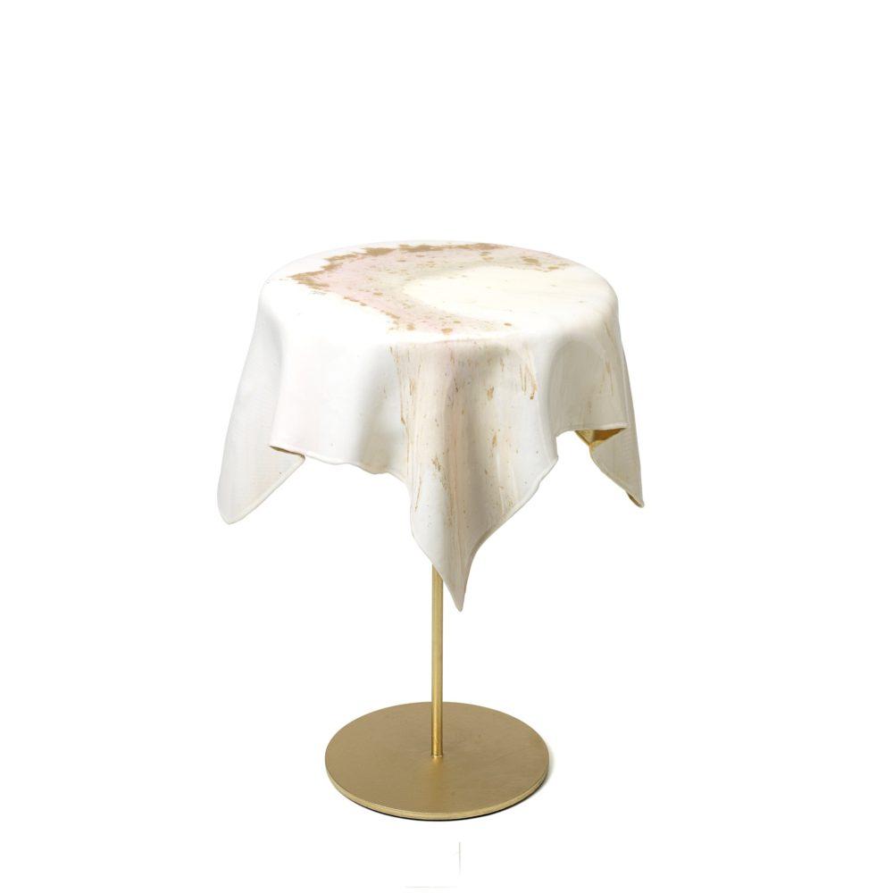 "Tisch ""Elegant White and Gold"""
