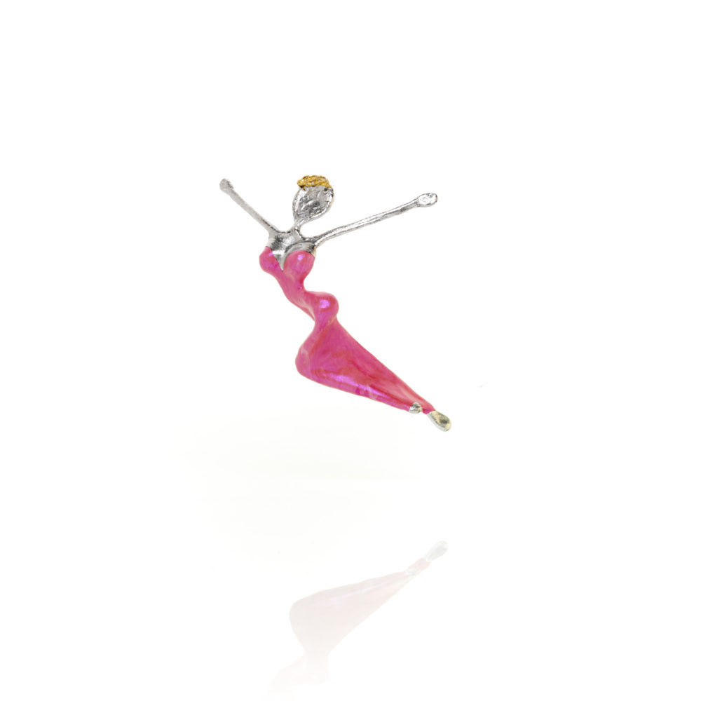 Glücksbotin rosa