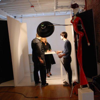 im Shooting bei Fadil Berisha