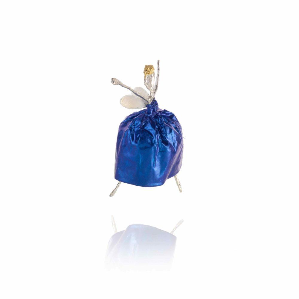 Schutzengel Enzianblau